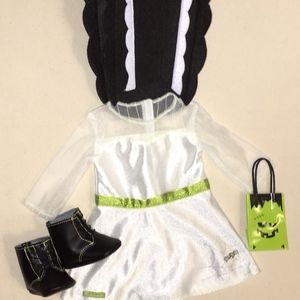 "Girls 18"" Bride of Frankenstein Doll Outfit"